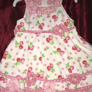 Biscotti Strawberry 🍓 Summer Dress so 4